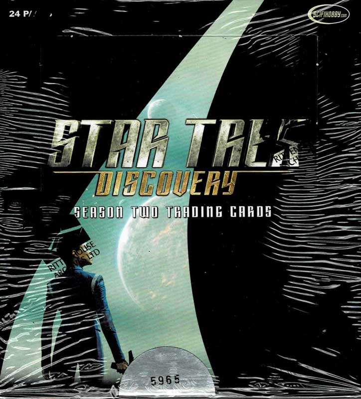 スタートレック 2020 Rittenhouse Star Trek Discovery Season 2 Trading Cards 12/28入荷!
