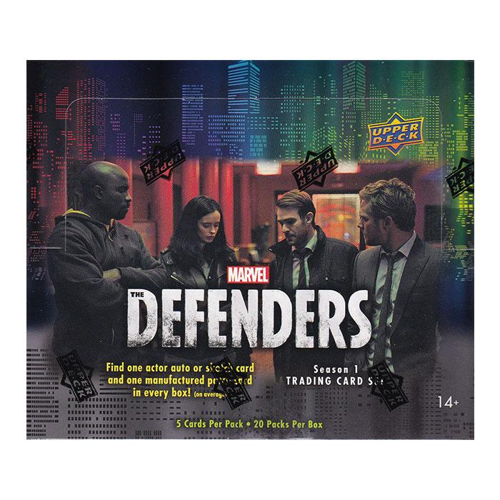 マーベル 2018 Upper Deck Marvel The Defenders Season 1 Trading Cards、12/21入荷!