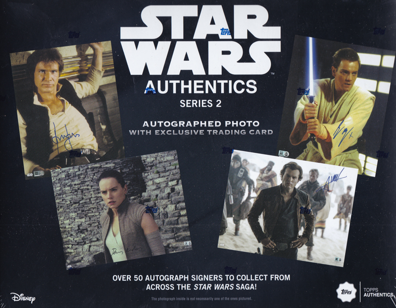 スター・ウォーズ 2019 Topps Star Wars Authentics Autographs Series 2 ボックス(BOX) 9/25入荷!