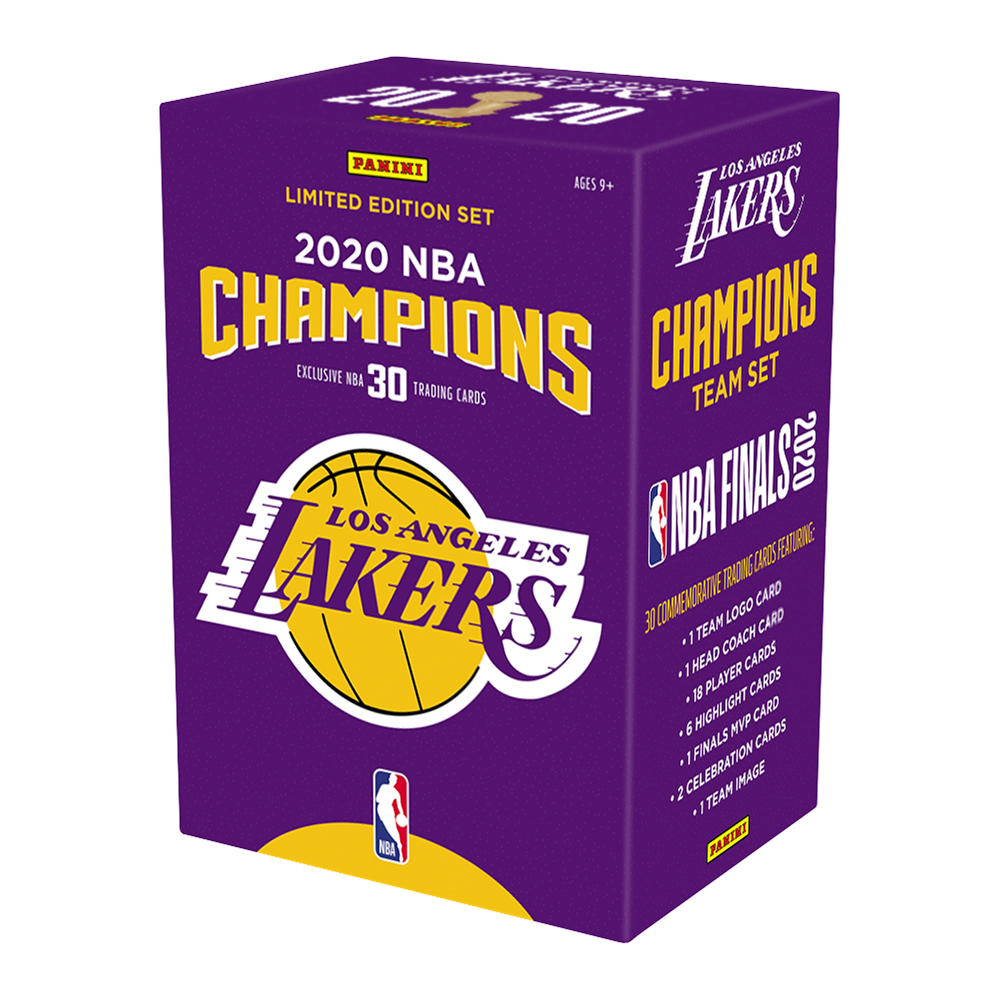 Panini 2020 LA Lakers NBA Championship Box Set 2/1入荷