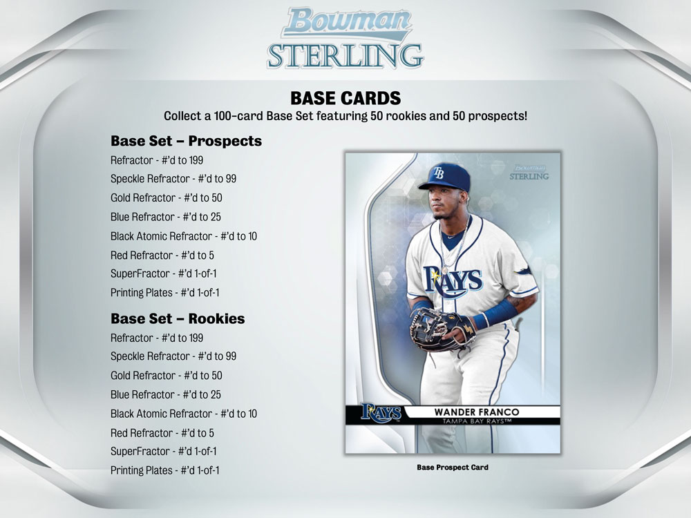 MLB 2020 Bowman Sterling Baseball 8/14入荷