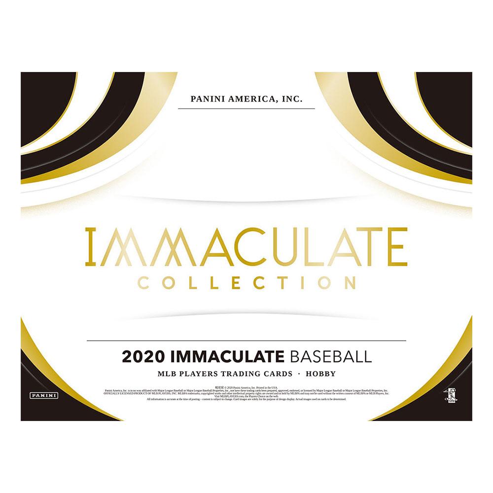 2020 Panini Immaculate Baseball 8/26入荷!