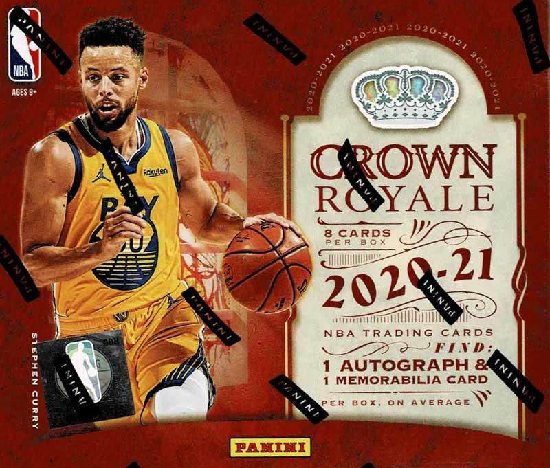 NBA 2020-21 Panini Crown Royale Basketball 5/7入荷!