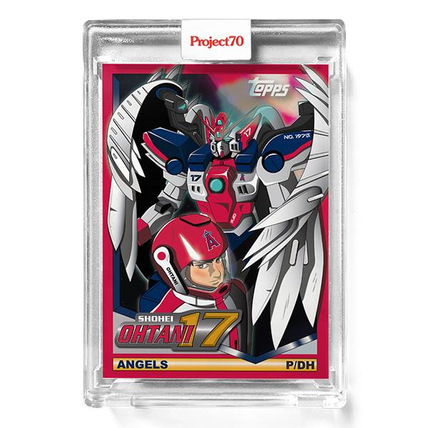 大谷翔平 #510 Topps Project70 Card Shohei Ohtani by Jeff Staple 9/27入荷