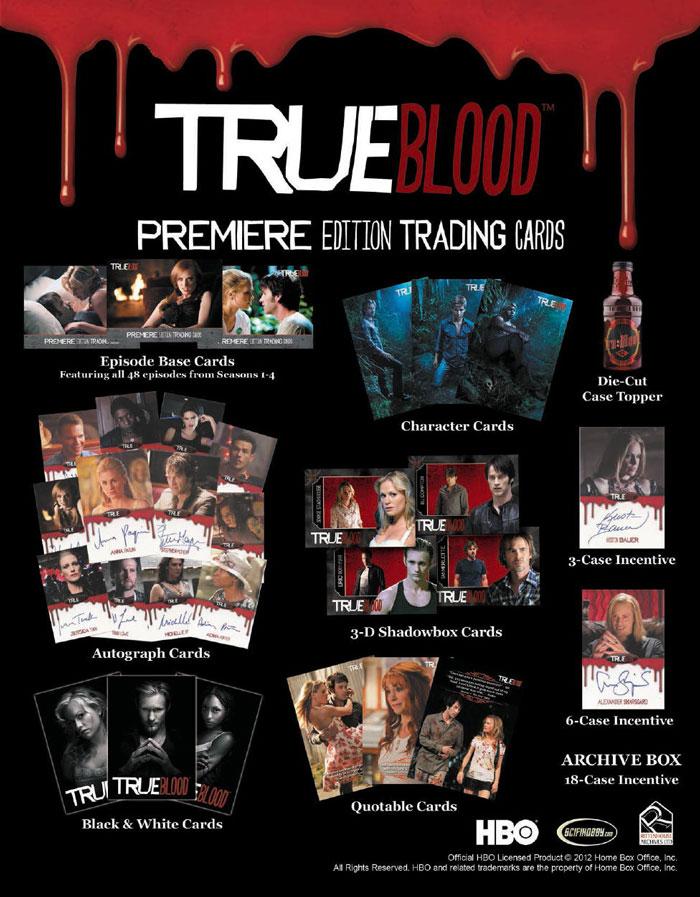 2012 トゥルーブラッド プレミアトレーディングカード / 2012 Rittenhouse True Blood Premiere Edition