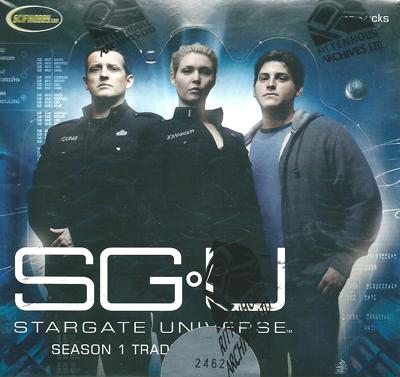 スターゲイト ユニバース シーズン1 トレーディングカード (ボックス) / Rittenhouse 【Stargate Universe】 Season one Premiere Edition Trading Cards Box