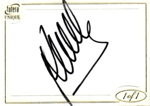 Roberto Mancini 2006 Futera 1of1 Autograph 1枚限定!