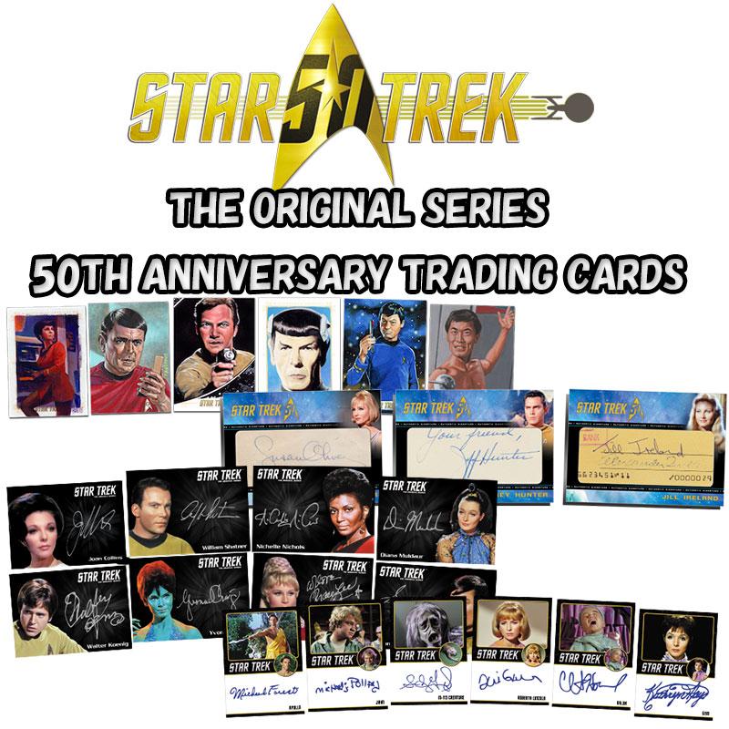 スタートレック Rittenhouse 2016 STAR TREK :The Original Series 50th Anniversary Trading Cards 2パック単位