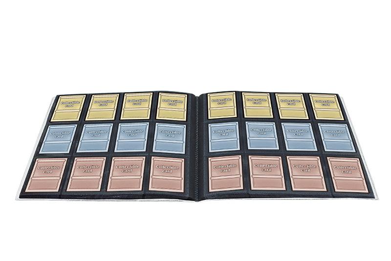 ウルトラプロ (Ultra Pro) MTG マジック・ザ・ギャザリング デック ビルダーズ プレイセット プロバインダー ブラック (#84694) | Deck Builder's Playset PRO-Binder - Black