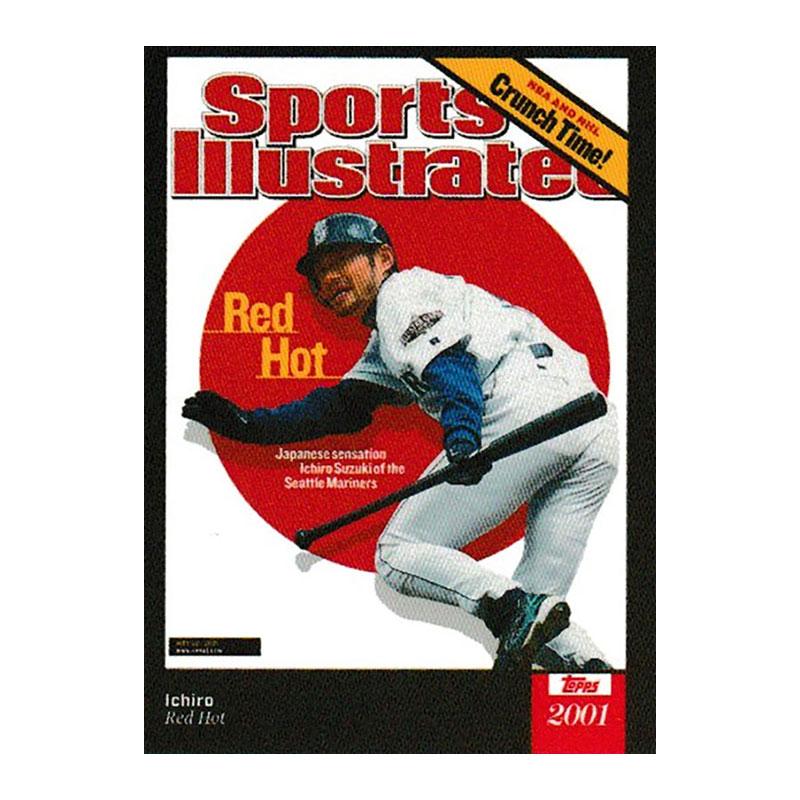 イチロー #29 Topps スポーツイラストレイテッド カード 2021 Topps x Sports Illustrated - Ichiro - Card #29  7/24入荷