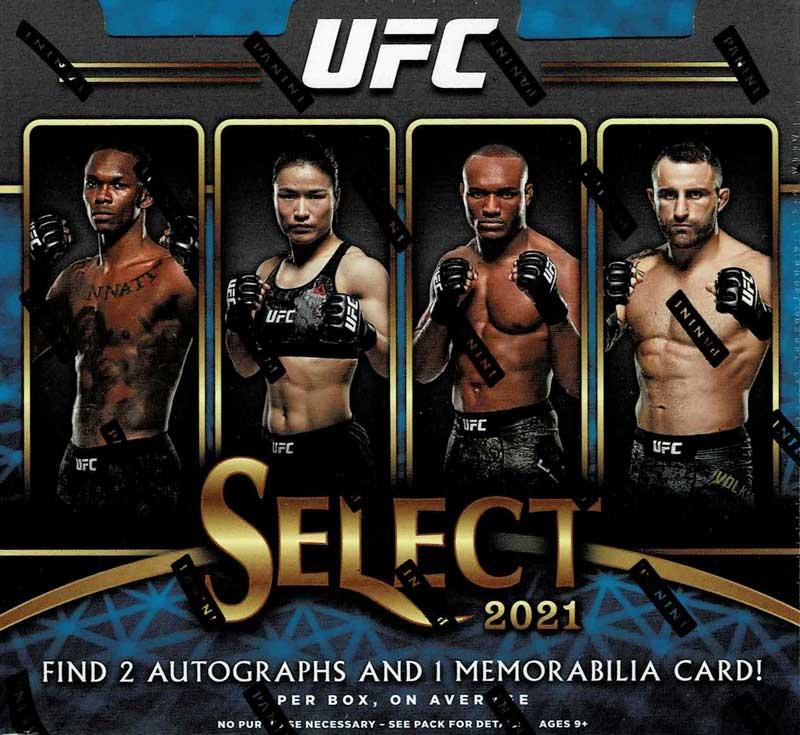 総合格闘技カード 2021 Panini Select UFC、7/30入荷!