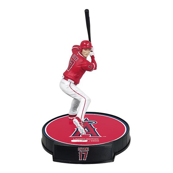 大谷翔平 インポート・ドラゴン フィギュア 2019 MLB リミテッドエディション 打者版 3600体限定生産 (エンゼルス/レッド) / Shohei Ohtani Imports Dragon