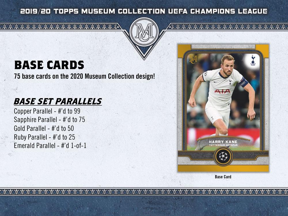 サッカー 2019-20 Topps UEFA Champions League Museum Collection Soccer 10/23入荷!