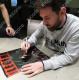 リオネル・メッシ 直筆サインフォト 額装 FC バルセロナ レジェンド (Lionel Messi Official Signed FC Barcelona Photo: Legend)
