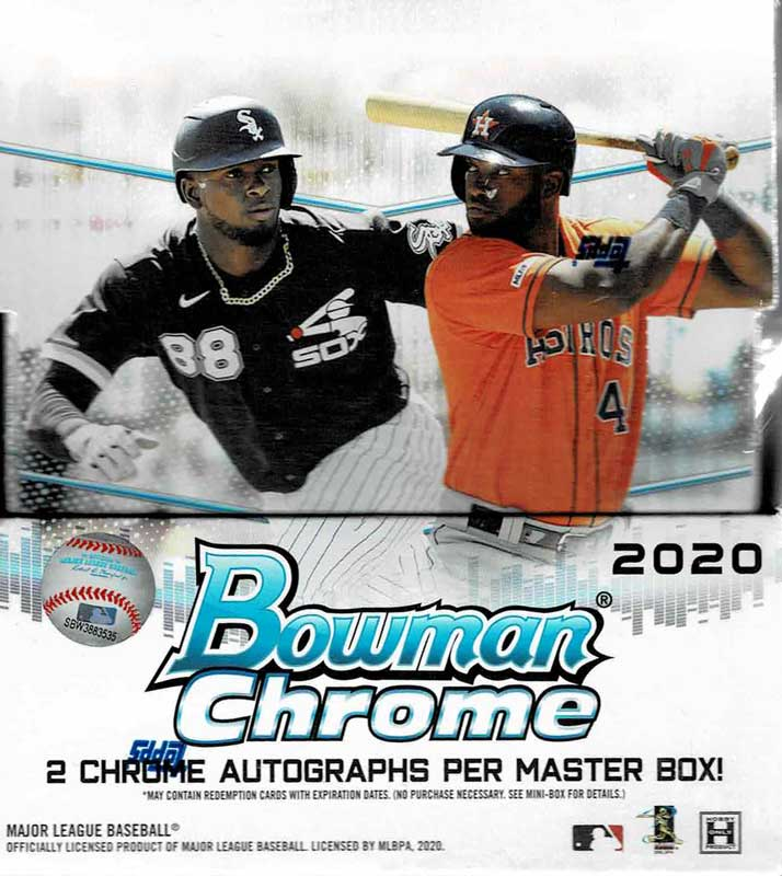 (好評発売中!) MLB 2020 Bowman Chrome Baseball Hobby 9/18入荷!