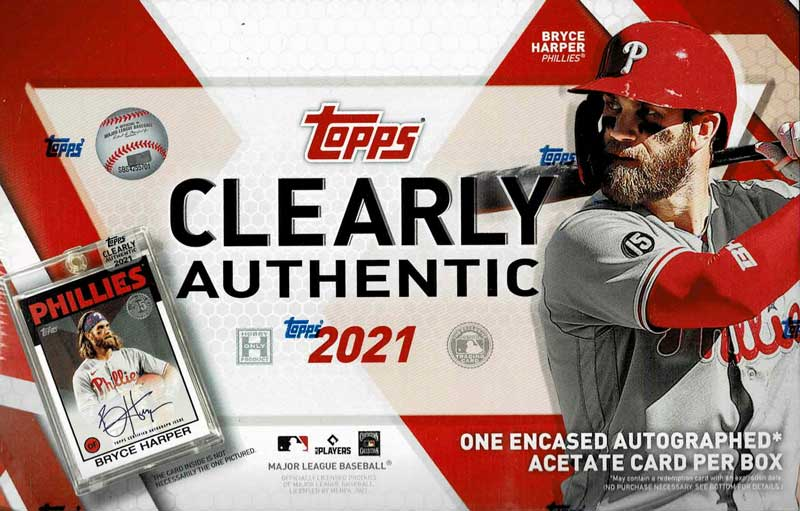 MLB 2021 Topps Clearly Authentic 7/21入荷