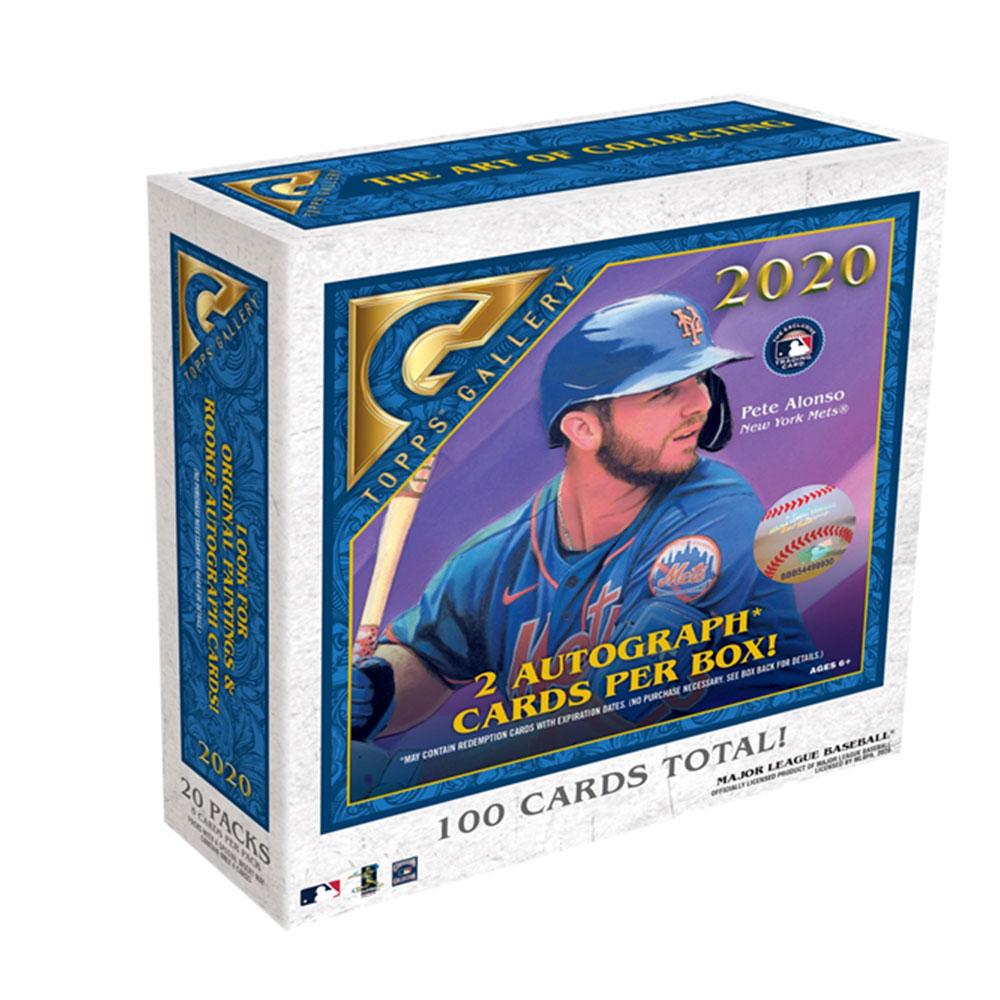 MLB 2020 Topps Gallery Baseball 10/31入荷!
