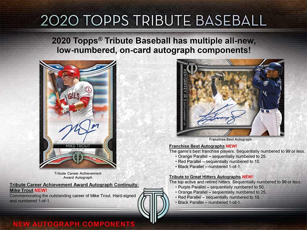MLB 2020 Topps Tribute Baseball パック