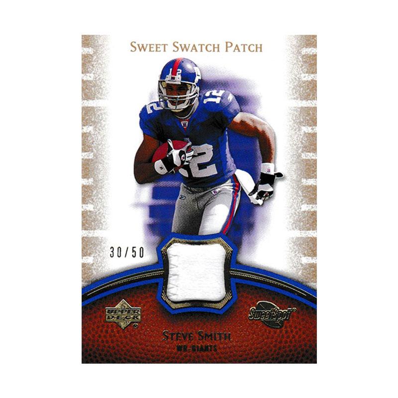 スティーブ・スミス 2007 UD Sweet Spot Sweet Swatch Patch 30/50 Steve Smith