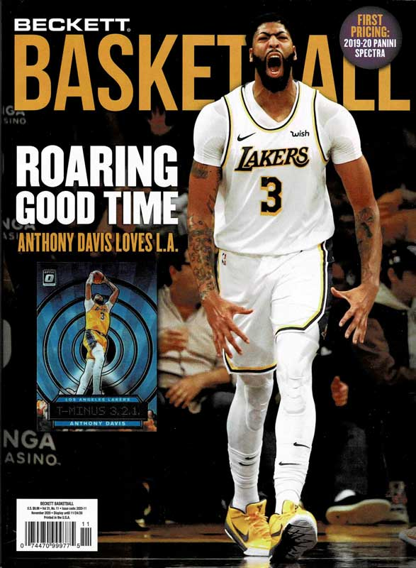NBA Beckett Plus #338 2020年 11月号 (ベケット) 10/6入荷 !!
