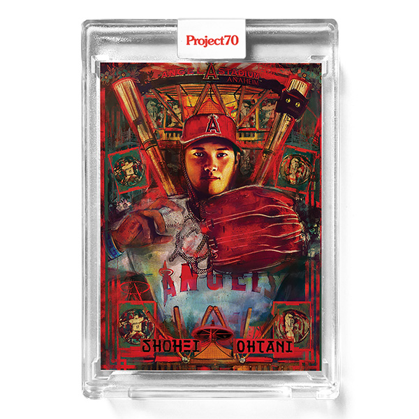 大谷翔平 #437 Topps Project70 Card Shohei Ohtani by Andrew Thiele 9/6入荷