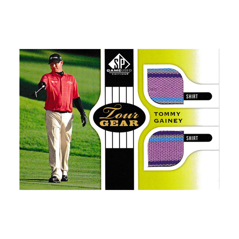 トミー・ゲイニー 2012 SP Game Used Golf Tour Gear / Tommy Gainey