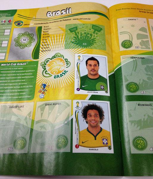 2014 パニーニ ワールドカップ ステッカー専用アルバム (2014 Panini World Cup Sticker Album)