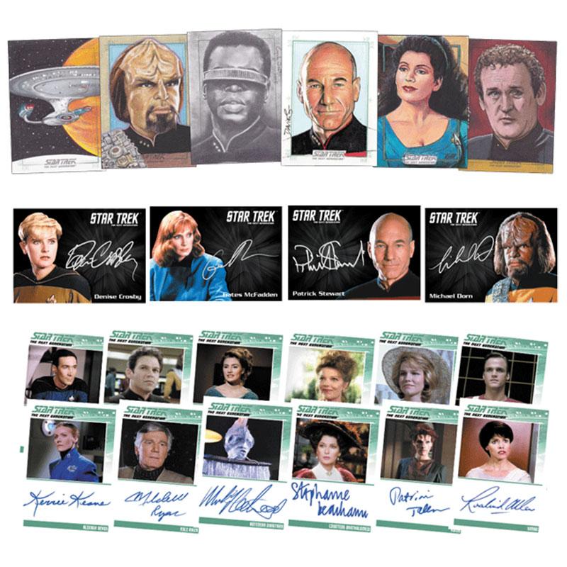 スタートレック Rittenhouse 2016 Star Trek The Next Generation :Portfolio Prints Trading Cards Series 2 、8/3入荷!