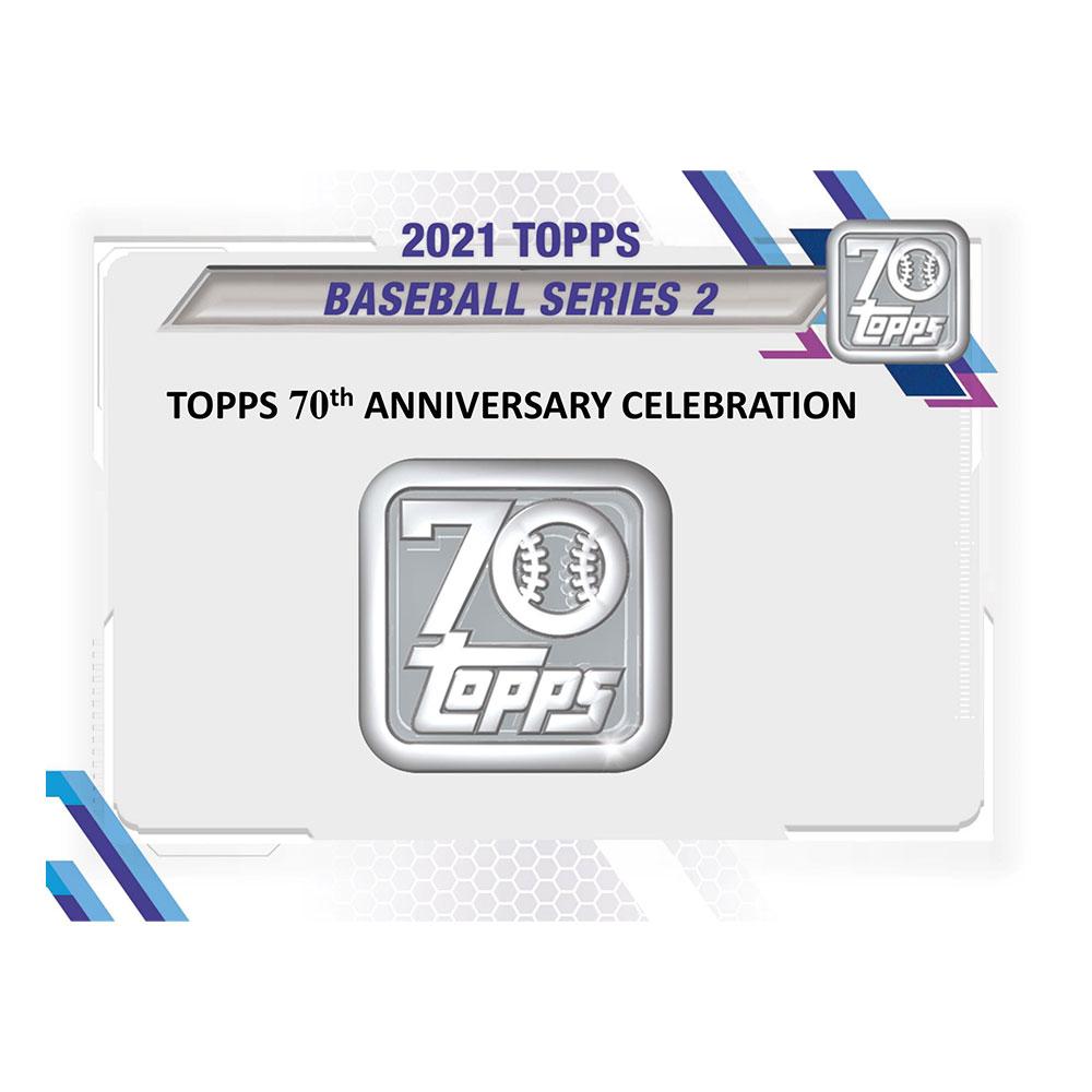 MLB 2021 Topps Baseball Series 2 Jumbo 6/9入荷!