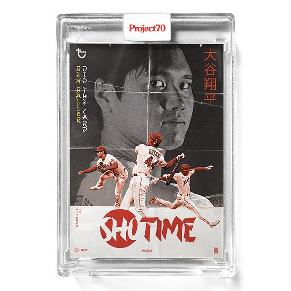 大谷翔平 #454 Topps Project70 Card Shohei Ohtani by Ben Baller 9/7入荷