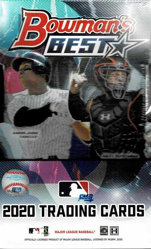 MLB 2020 Bowman's Best 12/23入荷!