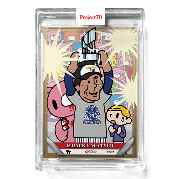 松井秀喜 #456 Topps Project70 Card Hideki Matsui by Toy Tokyo 9/7入荷