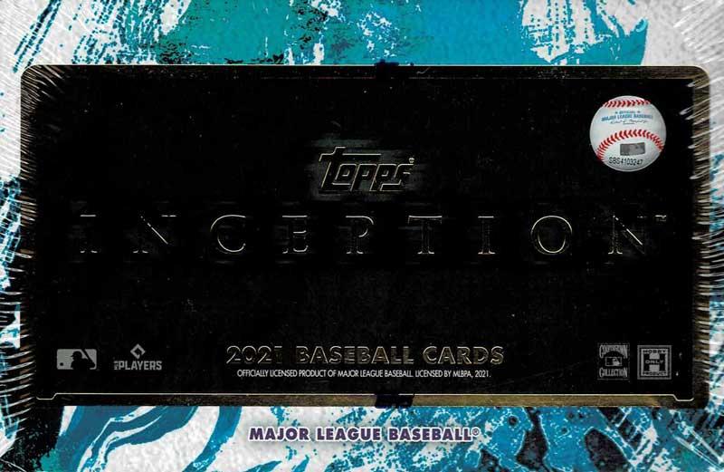 MLB 2021 Topps Inception Baseball 2021年、3/17入荷