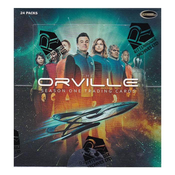 宇宙探査艦オーヴィル 2019 Rittenhouse The Orville Season One Trading Cards 、4/24入荷!