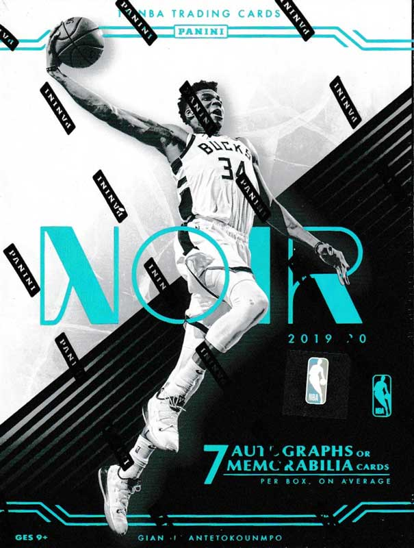 NBA 2019-20 Panini Noir Basketball 5/27入荷