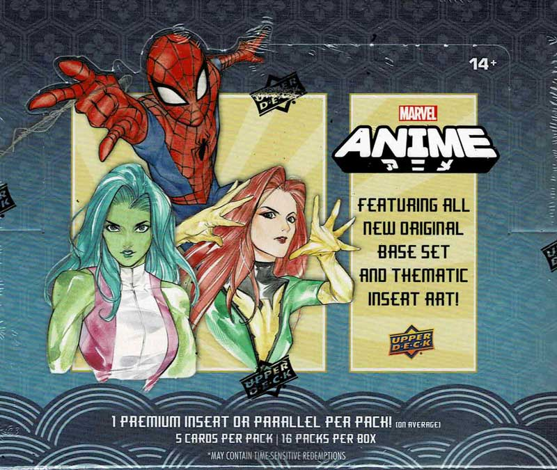 2020 Upper Deck Marvel Anime Trading Cards 10/15発売!!