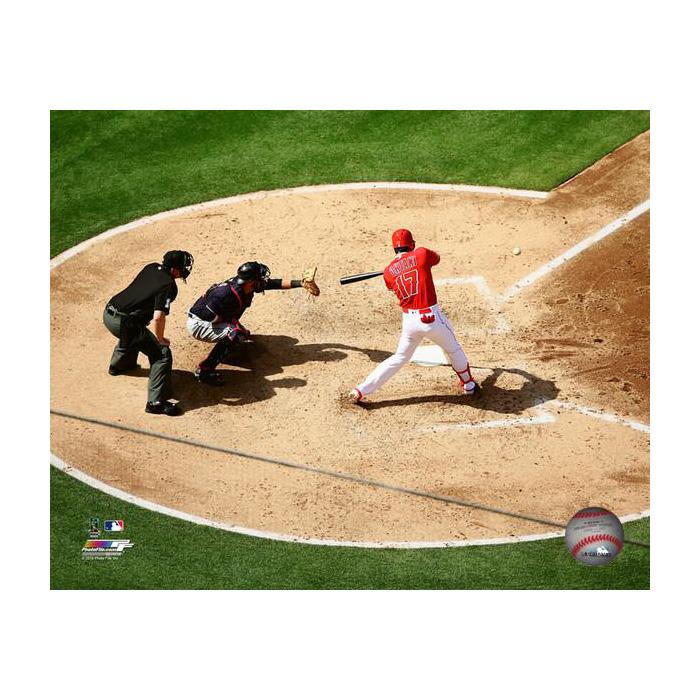 大谷翔平 MLB 2号ホームラン 8x10 フォト ロサンゼルス・エンゼルス フォトファイル