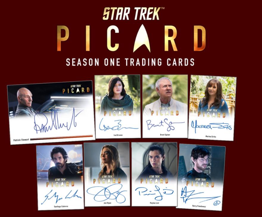 スタートレック 2021 Star Trek Picard Season 1 Trading Cards 4/30入荷
