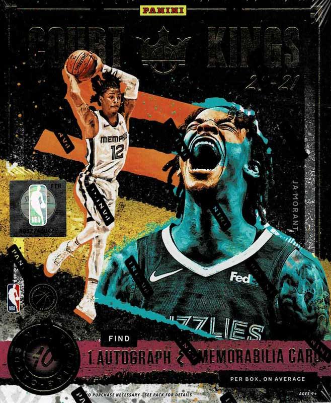 NBA 2020-21 Panini Court Kings Basketball Hobby 5/26入荷