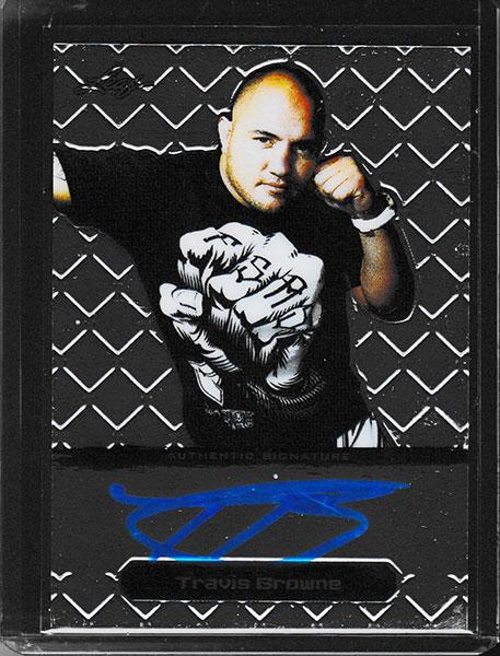 トラヴィス・ブラウン 2011 Leaf MMA Autographs / Travis Browne