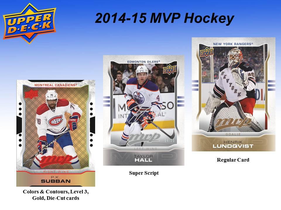 NHL 2014-15 UD MVP Hockey