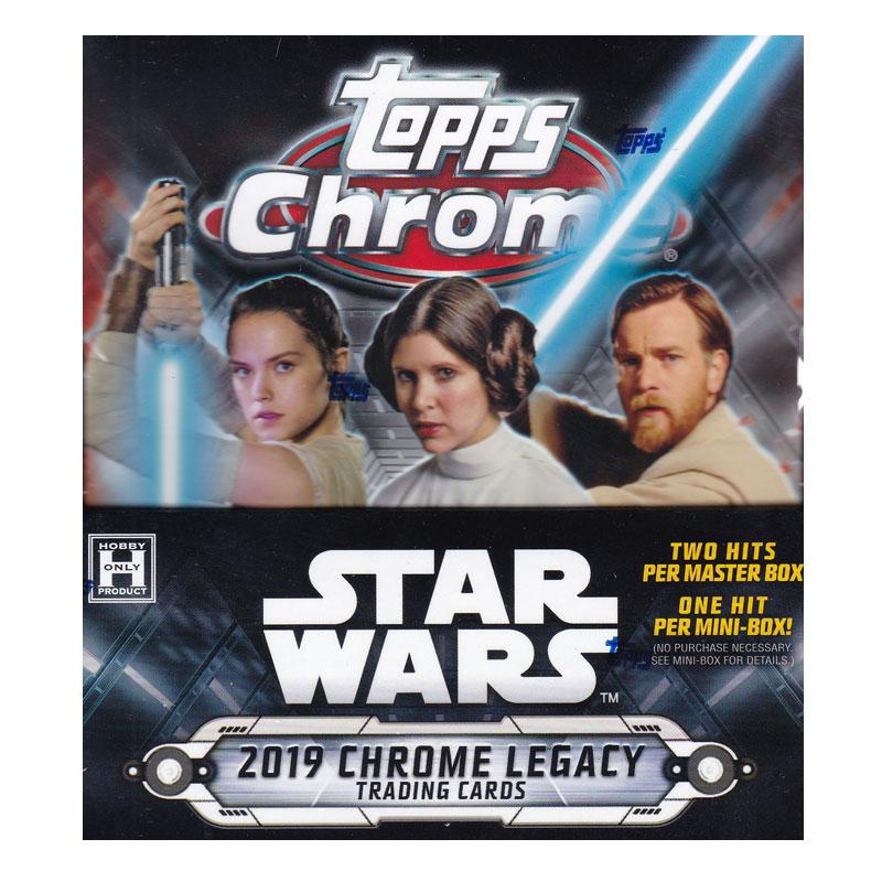 スター・ウォーズ 2019 Topps Star Wars Chrome Legacy トレーディングカード 8/9入荷!