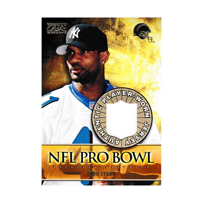 トッド・ライト 2000 Bowman Reserve NFL Pro Bowl Jersey / Todd lyght