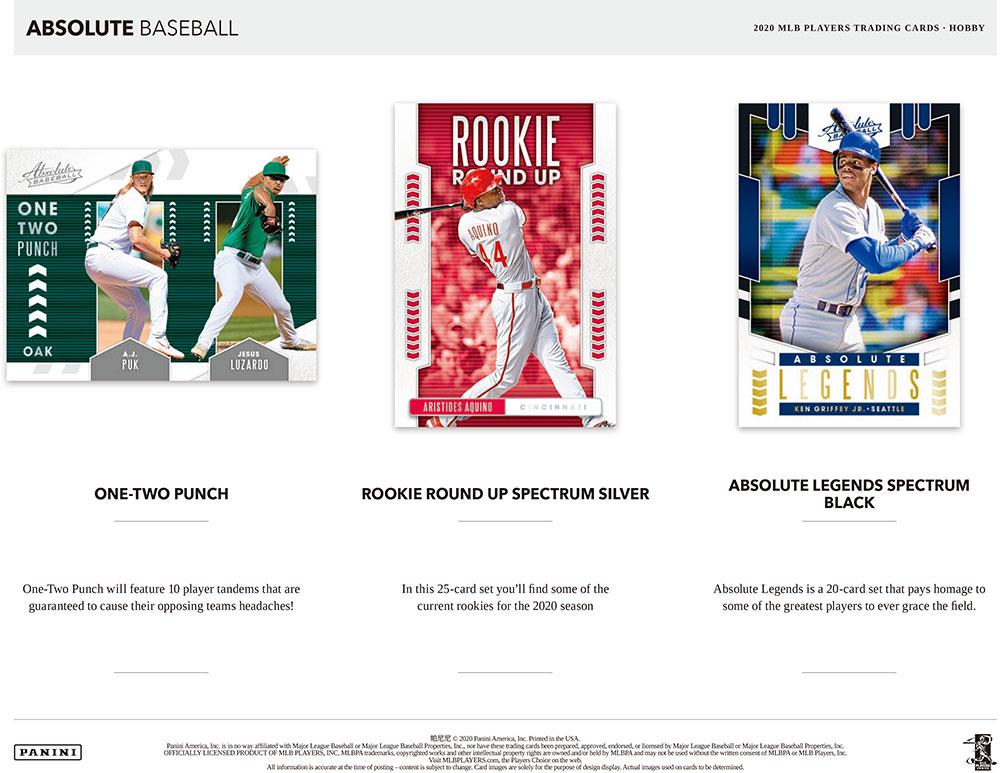MLB 2020 Panini Absolute Baseball 7/8入荷!