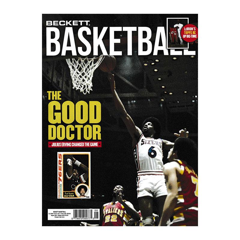 NBA Beckett Plus #335 2020年 8月号 (ベケット) 7/7入荷 !!