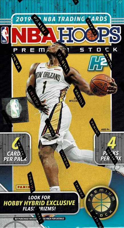 NBA 2019-20 Hoops Premium Stock Hybrid Basketball  12/16発売!