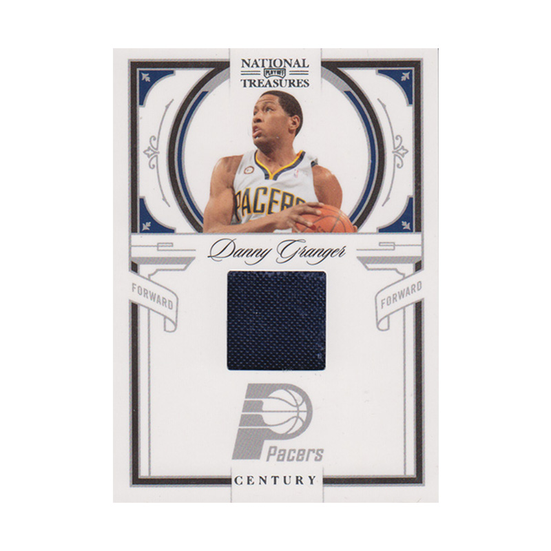 ダニー・グレンジャー NBAカード 2019-10 National Treasures Century Jersey (71/99) / Danny Granger