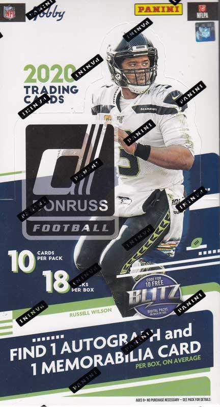 NFL 2020 Panini Donruss Football 9/2入荷!