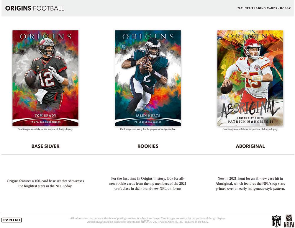 NFL 2021 Panini Origins Football 10/6入荷