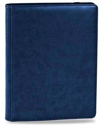 ウルトラプロ (Ultra Pro) プレミアム プロ バインダー ブルー #84193 | Premium 9-Pocket Blue PRO-Binder